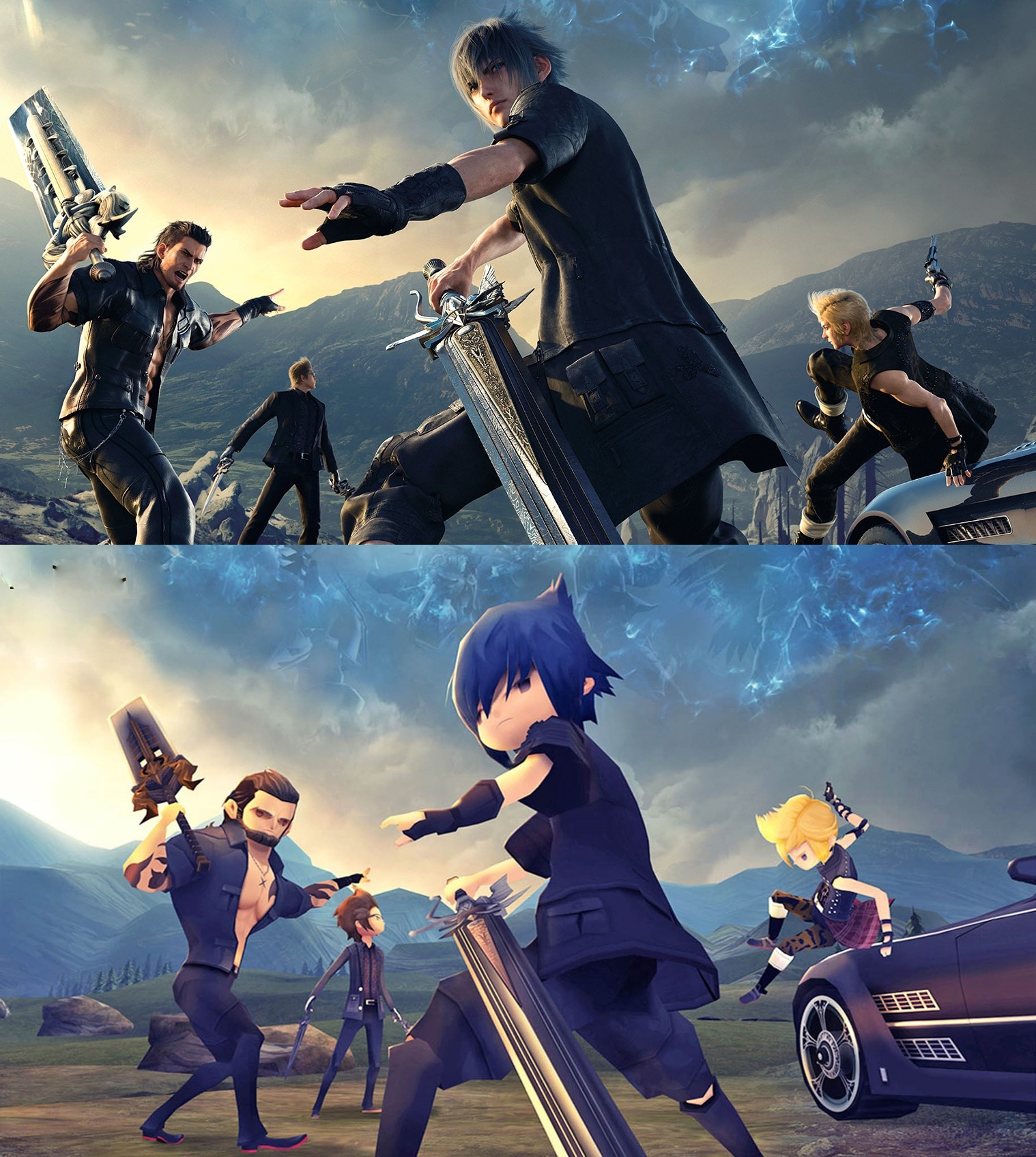 FINALFANTASY XV POCKET EDITION  - 1518738938671 ffxvpocketcompare - Pocket Edition Start The Next Great App Store Trend?