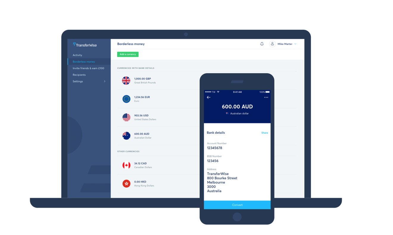 TransferWise App Is a Great Way To Send and Receive Money Abroad