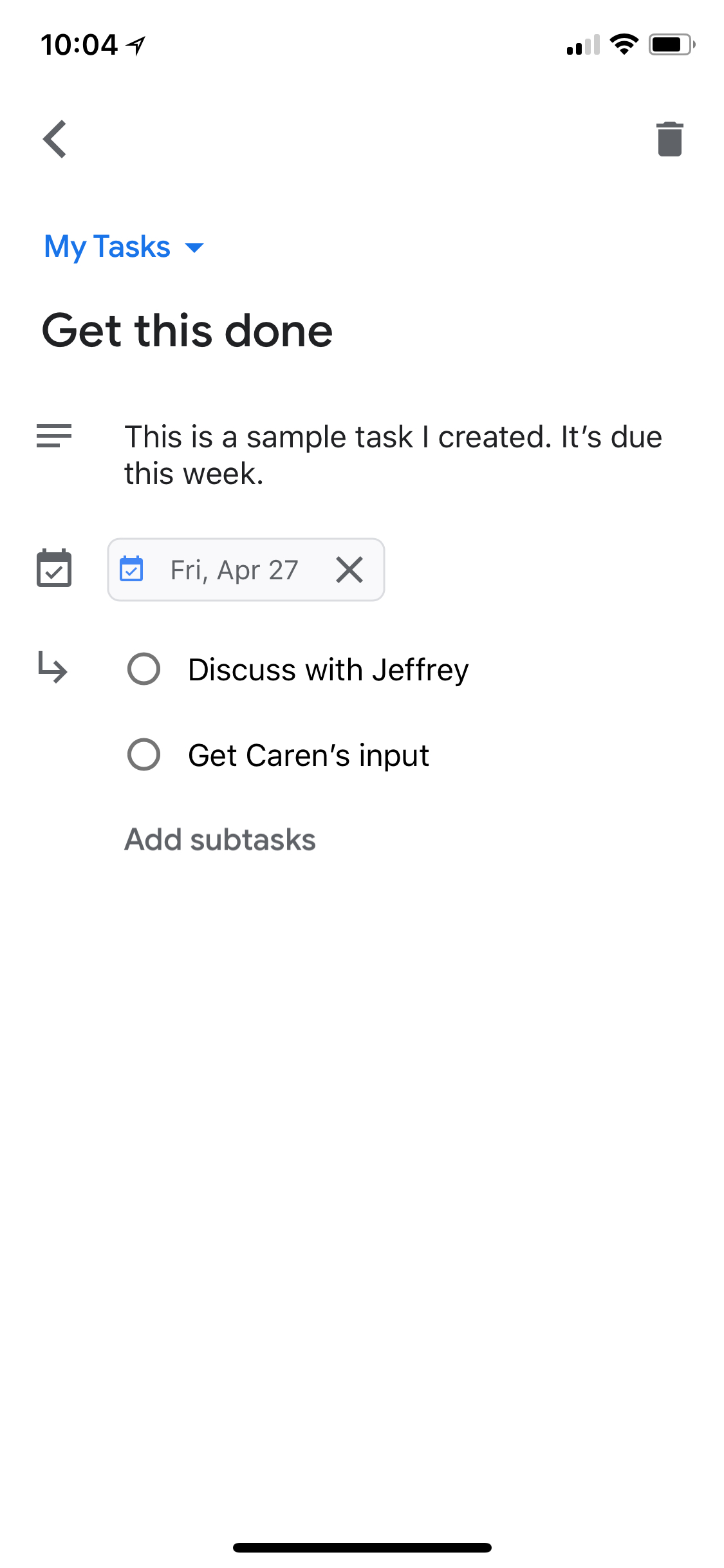 Google Tasks: Get Things Done