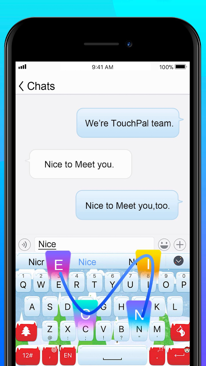 TouchPal Keyboard  - 1528126574315  5B 5D swipe typing - TouchPal Keyboard is a Perfect Choice for an All-Around Keyboard App