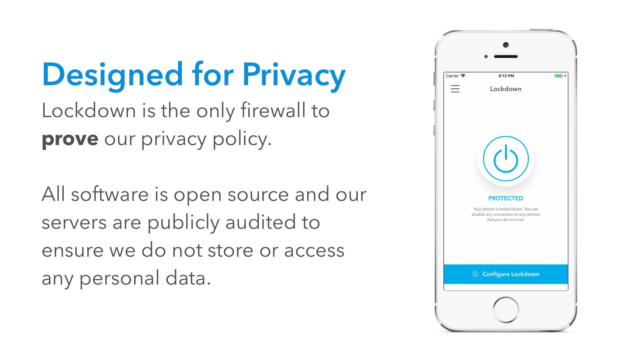 Lockdown Privacy