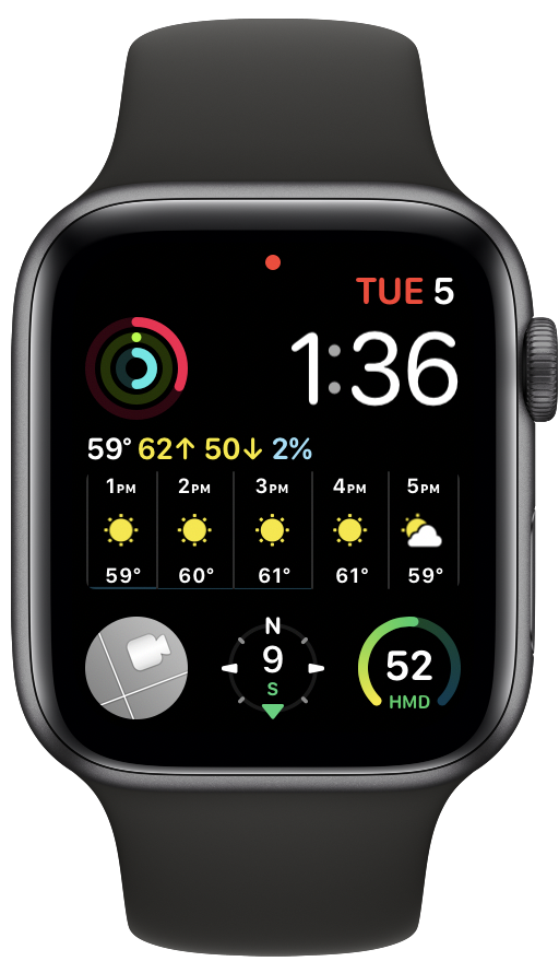 CamPanes for Apple Watch